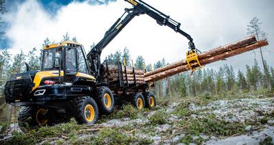Forsttechnik Produkte: Wahlers Forsttechnik Forwarder