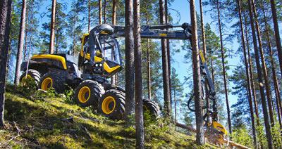 Forsttechnik Produkte: Wahlers Forsttechnik Harvester