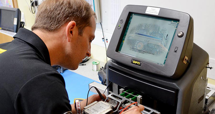 Wahlers Forsttechnik: Elektronikkompetenz