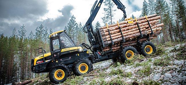 Forwarder von Ponsse - Wahlers Forsttechnik