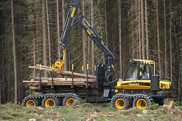 Wahlers Forsttechnik: Forwarder 10w von PONSSE