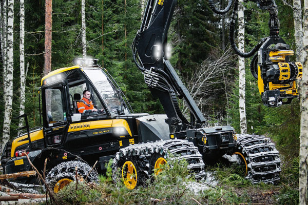 Wahlers Forsttechnik: Harvester Beaver von PONSSE