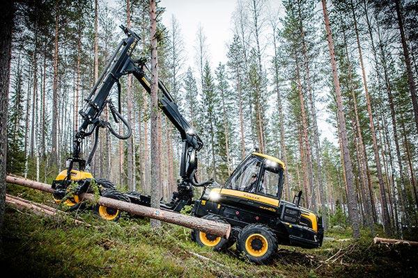 Wahlers Forsttechnik: Harvester BuffaloDUAL von PONSSE