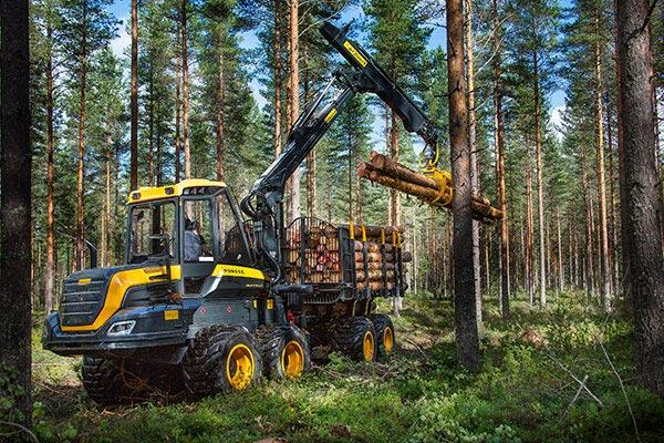 Wahlers Forsttechnik: Forwarder Buffalo Von PONSSE