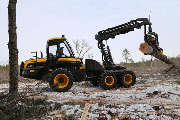 Wahlers Forsttechnik: Harvester Ergo Von PONSSE