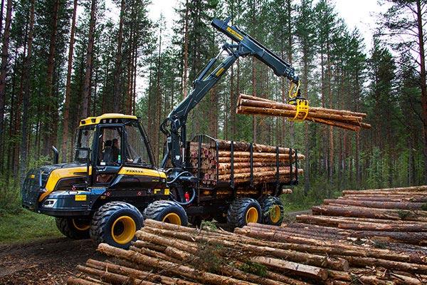 Wahlers Forsttechnik: Forwarder Elk Von PONSSE