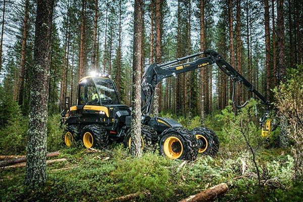 Wahlers Forsttechnik: Harvester Fox von PONSSE