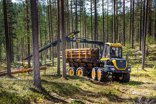 Wahlers Forsttechnik: Forwarder Wisent von PONSSE