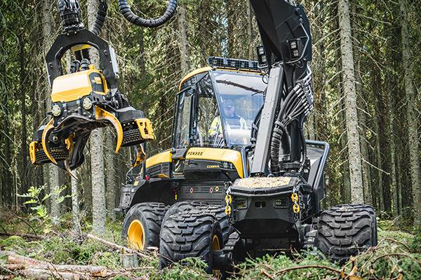 Wahlers Forsttechnik: Harvester Cobra von PONSSE