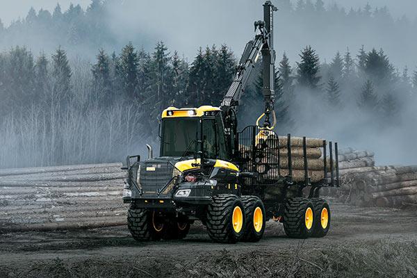 Wahlers Forsttechnik: Forwarder Bison von PONSSE