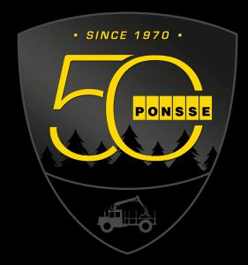 Logo 50 Jahre Ponsse