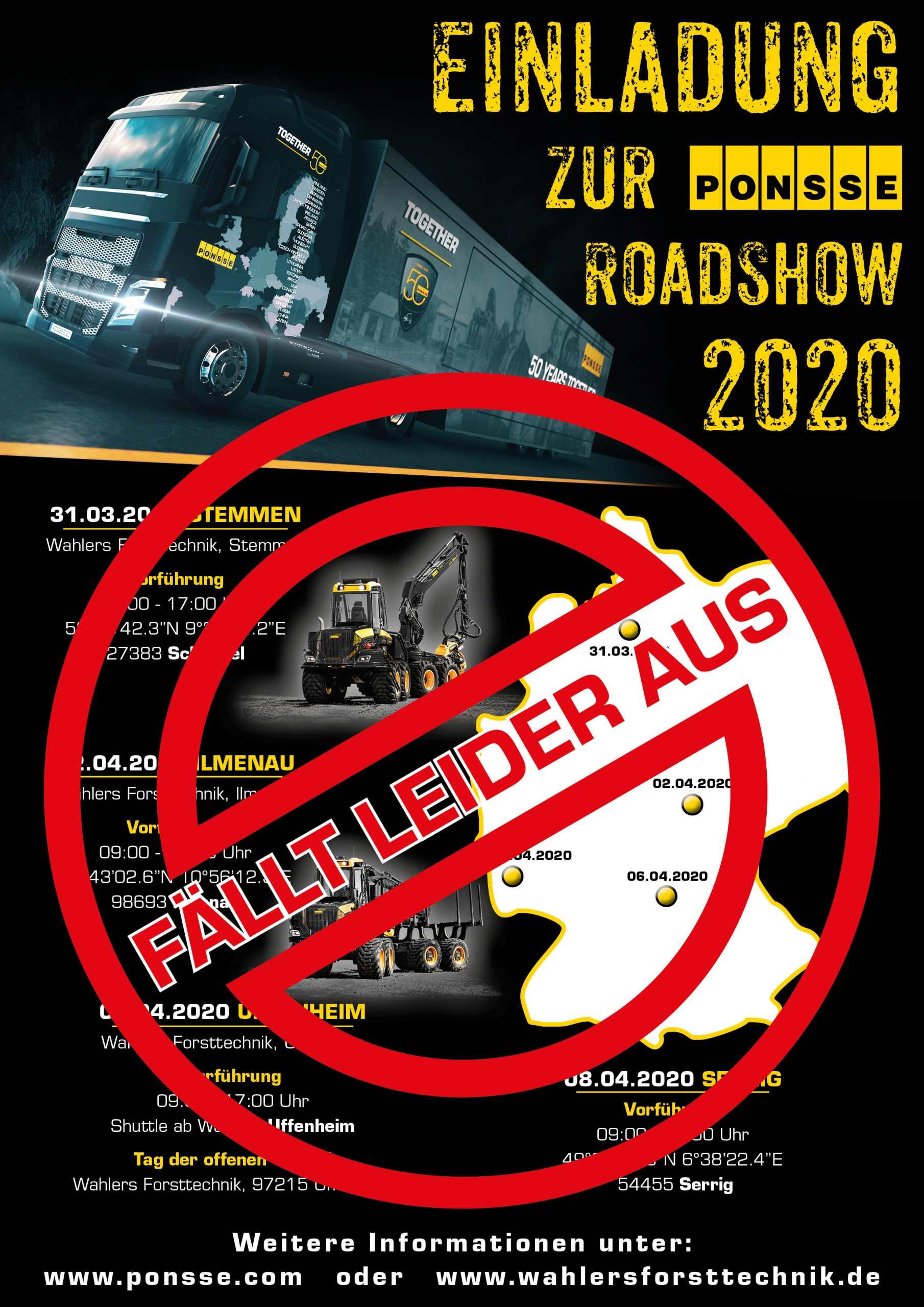 Absage Der 50 Jahre Roadshow