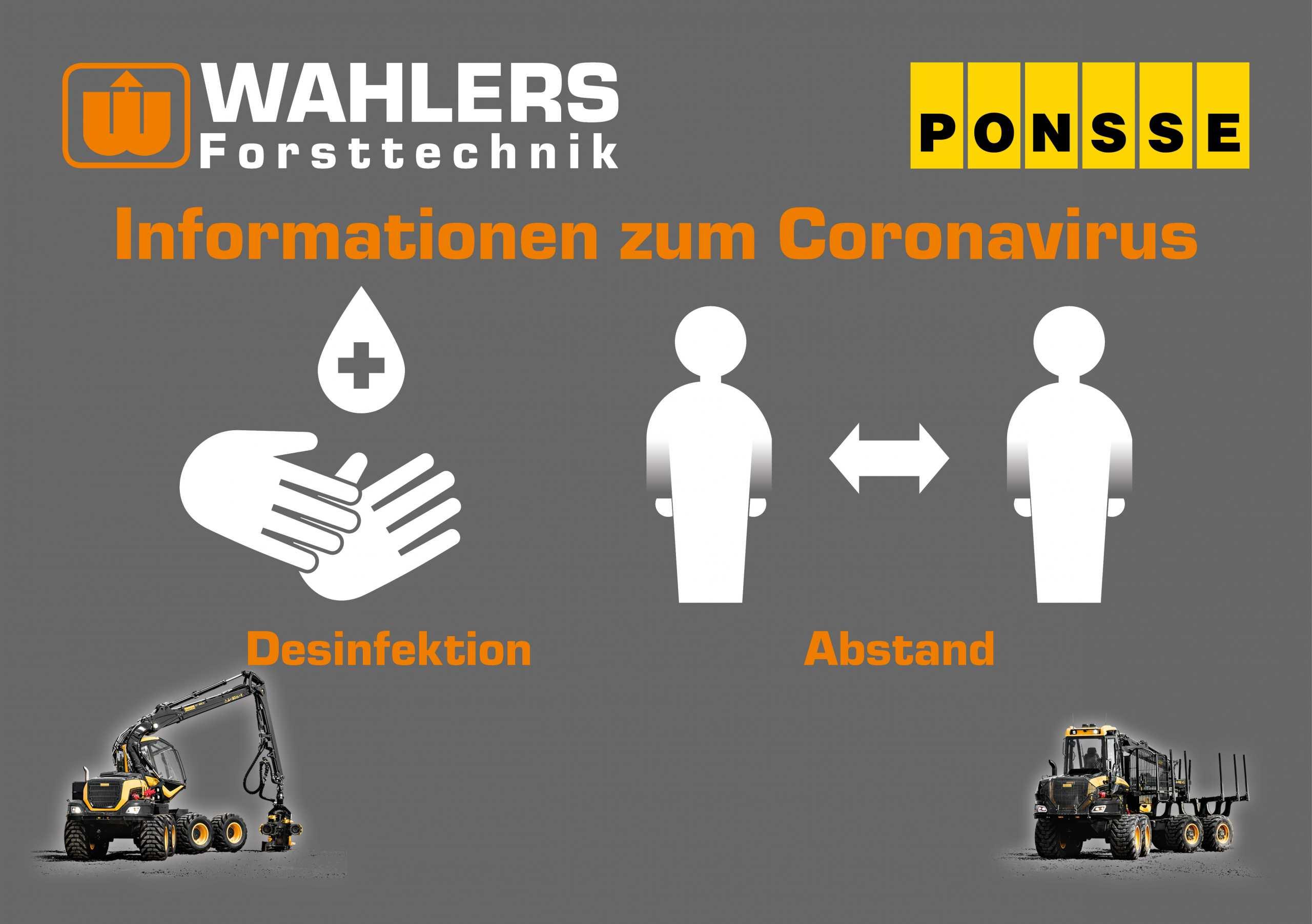 Informationen Zur Corona-Situation Und Auswirkungen Auf Wahlers Forsttechnik